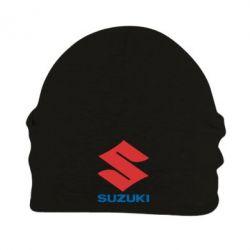 Шапка на флисе Suzuki - PrintSalon