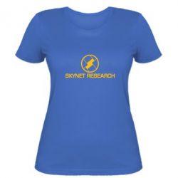 Женская футболка Skynet Research