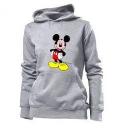 Женская толстовка Сool Mickey Mouse - PrintSalon