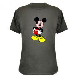 Камуфляжная футболка Сool Mickey Mouse - PrintSalon