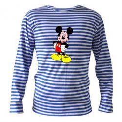 Тельняшка с длинным рукавом Сool Mickey Mouse - PrintSalon