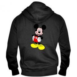 Мужская толстовка на молнии Сool Mickey Mouse - PrintSalon