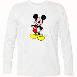 Футболка с длинным рукавом Сool Mickey Mouse - PrintSalon