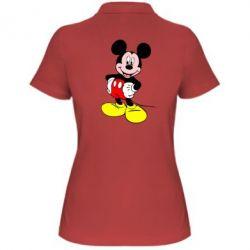 Женская футболка поло Сool Mickey Mouse - PrintSalon