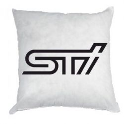 Подушка STI Logo