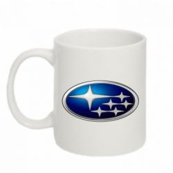 Кружка 320ml Subaru 3D Logo
