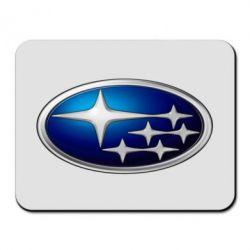 Коврик для мыши Subaru 3D Logo