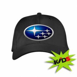 Детская кепка Subaru 3D Logo