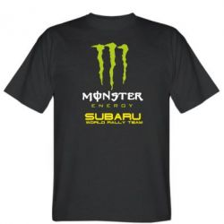 Футболка Subaru Monster Energy