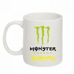 Кружка 320ml Subaru Monster Energy