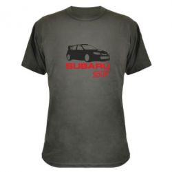 Камуфляжная футболка Subaru STI