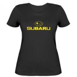 Женская Subaru - PrintSalon