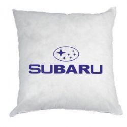 Подушка Subaru - PrintSalon