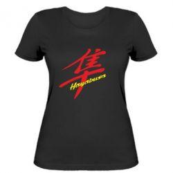 Женская футболка Suzuki Hayabusa