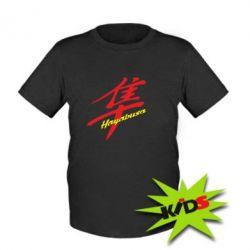 Детская футболка Suzuki Hayabusa