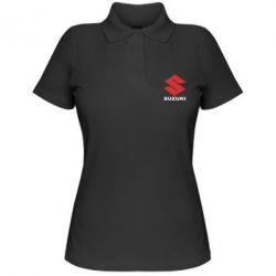 Женская футболка поло Suzuki - PrintSalon