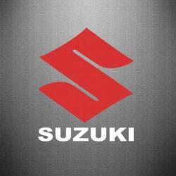 Наклейка Suzuki - PrintSalon