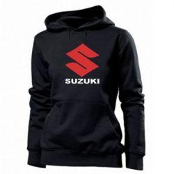Женская толстовка Suzuki - PrintSalon