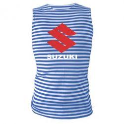 Майка-тельняшка Suzuki - PrintSalon