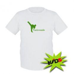 Детская футболка Taekwondo