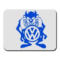 Коврик для мыши Тасманский дьявол Volkswagen