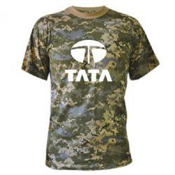 Камуфляжная футболка TaTa