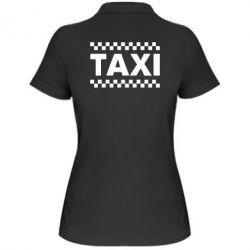 Женская футболка поло TAXI - PrintSalon