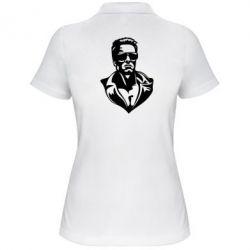 Женская футболка поло Терминатор - PrintSalon