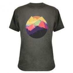 Камуфляжная футболка The mountains Art