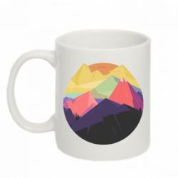 Кружки 320ml  The mountains Art