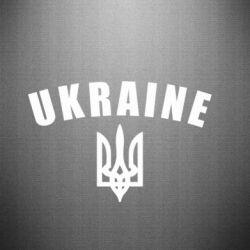 Автомобільні наклейки на тему  Герб України - купити або замовити ... f5631b9b38d71