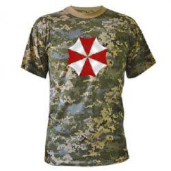 Камуфляжная футболка Umbrella Corp Logo
