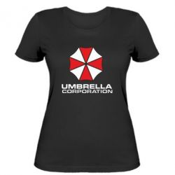 Женская футболка Umbrella - PrintSalon
