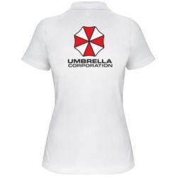 Женская футболка поло Umbrella - PrintSalon