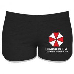 Женские шорты Umbrella - PrintSalon