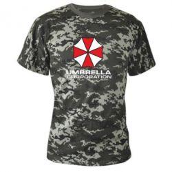 Камуфляжная футболка Umbrella - PrintSalon