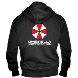 Мужская толстовка на молнии Umbrella - PrintSalon