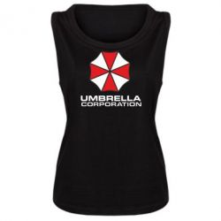 Женская майка Umbrella - PrintSalon