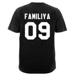 Мужская футболка  с V-образным вырезом Ваша фамилия и номер - PrintSalon