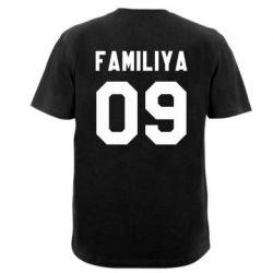Мужская футболка Ваша фамилия и номер - PrintSalon
