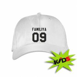 Детская кепка Ваша фамилия и номер - PrintSalon