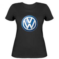 Женская футболка Volkswagen 3D Logo