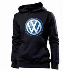 Женская толстовка Volkswagen 3D Logo