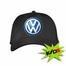 Детская кепка Volkswagen 3D Logo