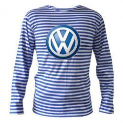 Тельняшка с длинным рукавом Volkswagen 3D Logo