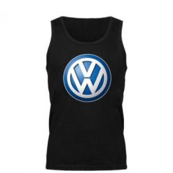 Мужская майка Volkswagen 3D Logo