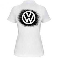 Женская футболка поло Volkswagen art
