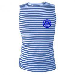 Майка-тельняшка Volkswagen Logo