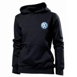 Женская толстовка Volkswagen Small Logo