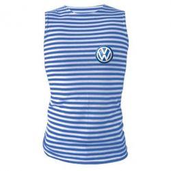 Майка-тельняшка Volkswagen Small Logo